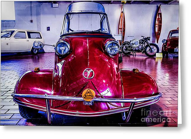 Nashville Tennessee Greeting Cards - 1957 Messerschmitt KR 200 Greeting Card by Photo Captures by Jeffery
