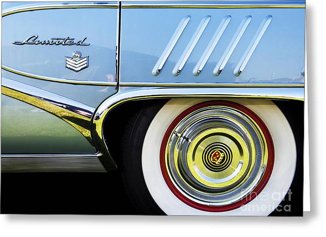 Custom Buick Greeting Cards - 1958 Buick Limited Greeting Card by Tim Gainey