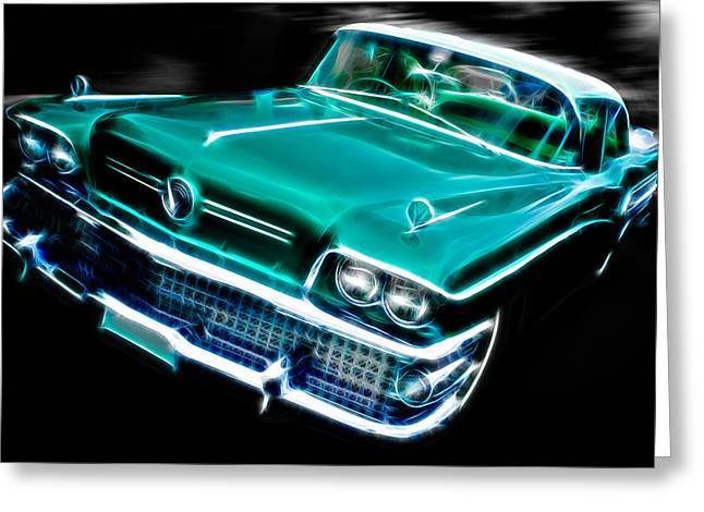 D700 Photographs Greeting Cards - 1958 Buick Special Greeting Card by Phil