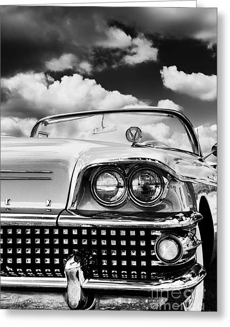 General Motors Company Greeting Cards - 1958 Buick Special  Greeting Card by Tim Gainey