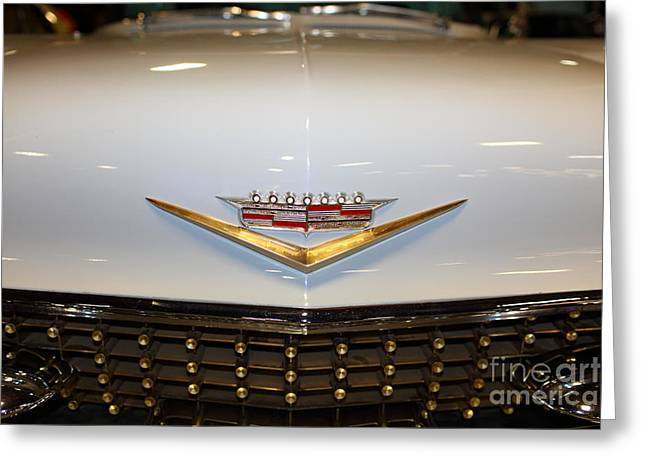 Caddy Greeting Cards - 1958 Cadillac Eldorado Seville 5D25633 Greeting Card by Wingsdomain Art and Photography