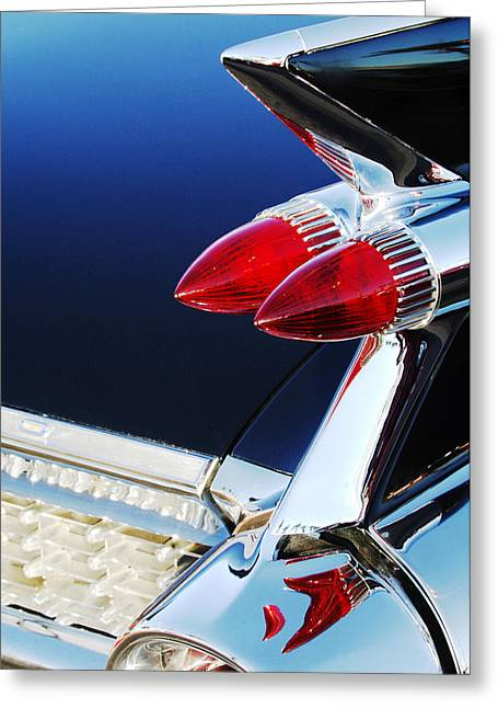 1959 Cadillac Eldorado Taillight -075c Greeting Card by Jill Reger
