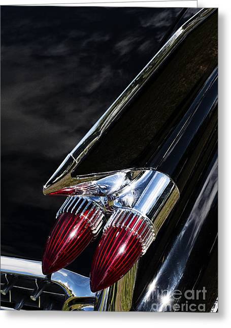 General Motors Company Greeting Cards - 1959 Cadillac Sedan De Ville Greeting Card by Tim Gainey