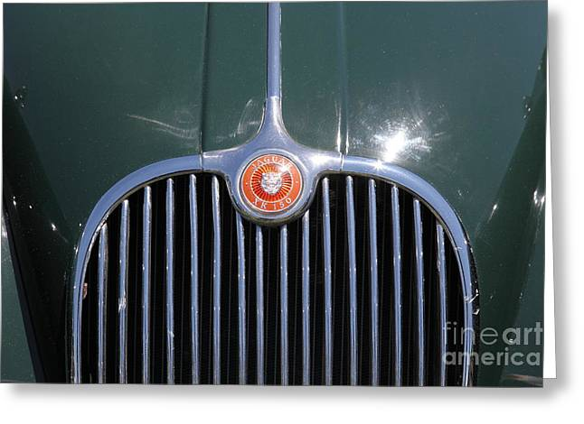 1959 Jaguar XK150 DHC 5D23300 Greeting Card by Wingsdomain Art and Photography