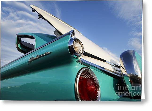 1959 Sunliner Greeting Card by Dennis Hedberg