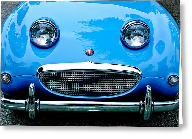 1960 Austin-healey Sprite Greeting Card by Jill Reger