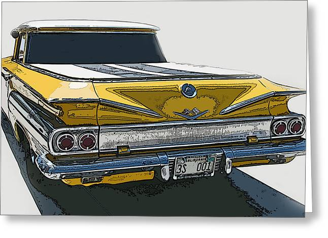 1960 Chevrolet El Camino Greeting Card by Samuel Sheats