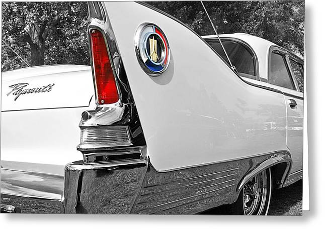Wall Image Greeting Cards - 1960 Plymouth Fury Greeting Card by Gill Billington