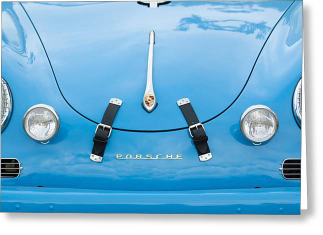 Transportation Greeting Cards - 1960 Volkswagen Porsche 356 Carrera GS GT Replica  Greeting Card by Jill Reger