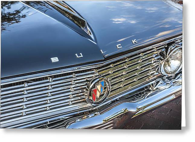 155 Greeting Cards - 1961 Buick Skylark  Greeting Card by Rich Franco