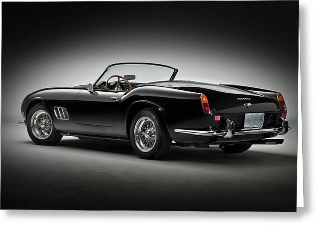 Spyder Greeting Cards - 1961 Ferrari 250 GT California Spyder Greeting Card by Gianfranco Weiss
