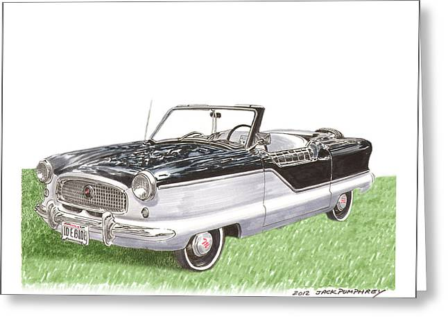 Considering Greeting Cards - 1961 Nash Metropolitian Greeting Card by Jack Pumphrey