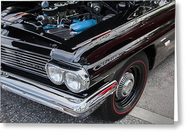 1961 Pontiac Catalina 421 Greeting Card by Rich Franco