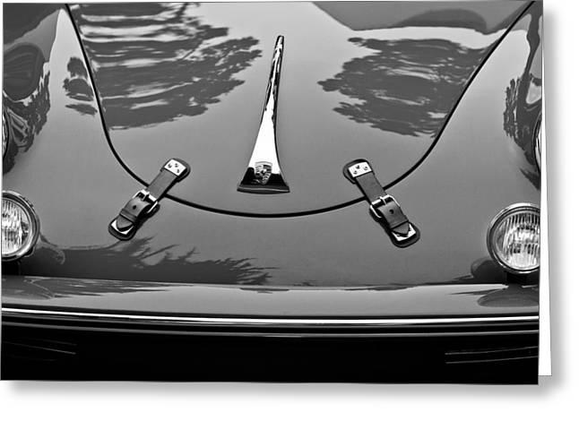 1961 Greeting Cards - 1961 Porsche 356 B Roadster Greeting Card by Jill Reger