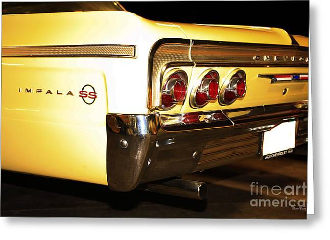 1962 Chevrolet Impala Ss Greeting Card by Cheryl Young