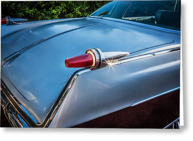 Detroit Legends Greeting Cards - 1962 Chrysler Imperial Crown Painted  Greeting Card by Rich Franco