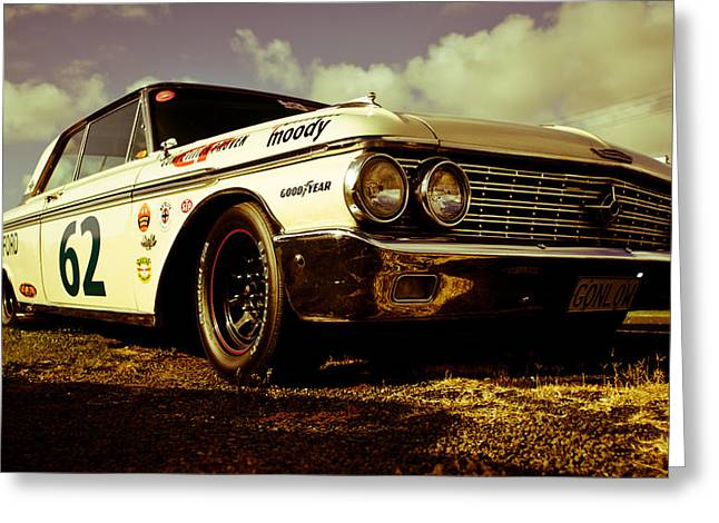 D700 Photographs Greeting Cards - 1962 Ford Galaxie 500 Greeting Card by Phil
