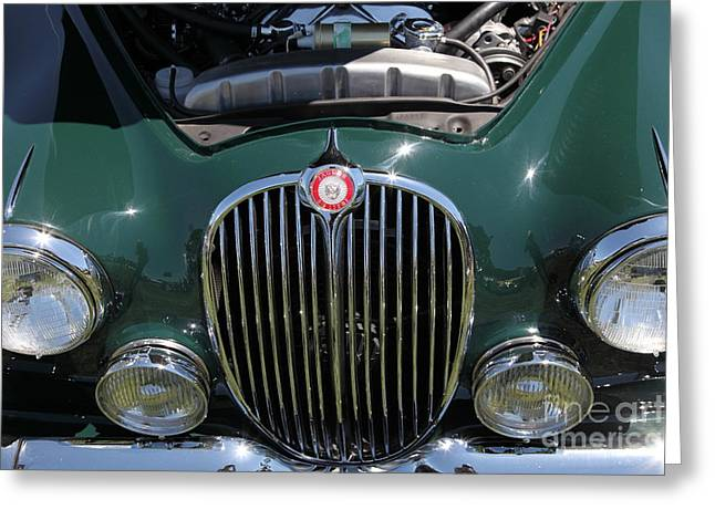 1962 Jaguar Mark II 5D23327 Greeting Card by Wingsdomain Art and Photography