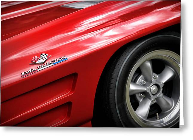 Carroll Shelby Greeting Cards - 1963 Chevrolet Corvette Sting Ray Z06 Greeting Card by Gordon Dean II