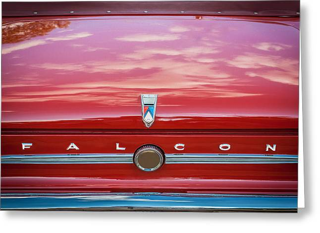 1963 Ford Sprint Greeting Cards - 1963 Ford Falcon Sprint Convertible   Greeting Card by Rich Franco