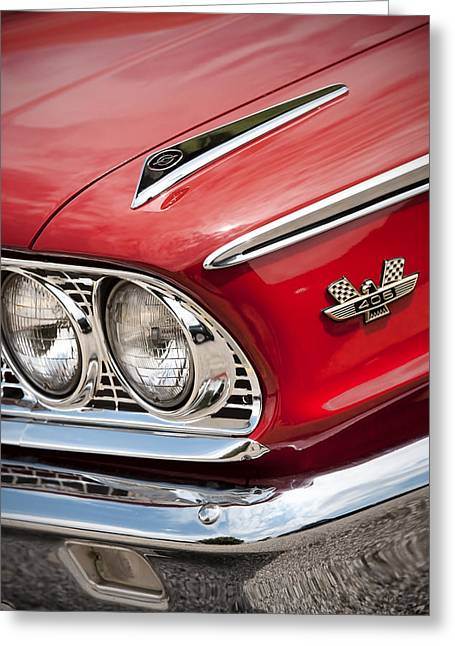 1963 Ford Digital Art Greeting Cards - 1963 Ford Galaxie 500 XL Greeting Card by Gordon Dean II
