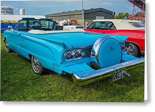 1963 Ford Greeting Cards - 1963 Mercury Comet Convertible 2 Greeting Card by Steve Harrington