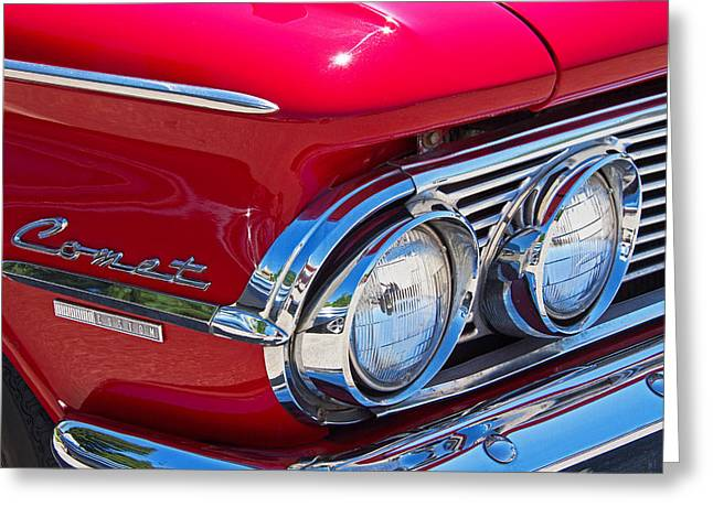 1963 Ford Greeting Cards - 1963 Mercury Comet Custom Greeting Card by Nick Gray