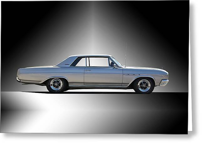 Rally Greeting Cards - 1965 Buick Gran Sport Greeting Card by Dave Koontz