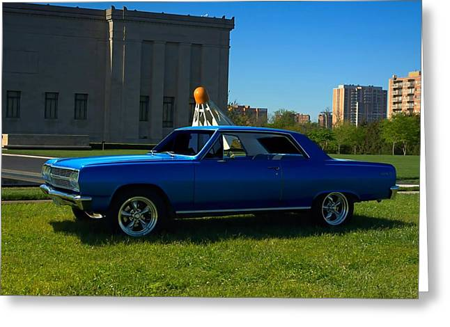 Teemack Greeting Cards - 1965 Chevelle Malibu Greeting Card by Tim McCullough