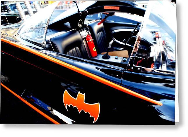 1966 Batmobile 10 Greeting Card by Cindy Nunn