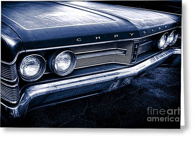 New Yorker Greeting Cards - 1967 Chrysler New Yorker Greeting Card by Olivier Le Queinec
