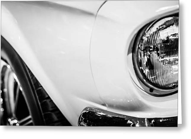 Headlight Greeting Cards - 1967 Ford Mustang Shelby GT350 Panorama Photo Greeting Card by Paul Velgos