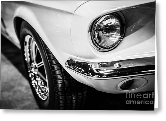 Mustang Gt350 Greeting Cards - 1967 Ford Mustang Shelby GT350 Picture Greeting Card by Paul Velgos