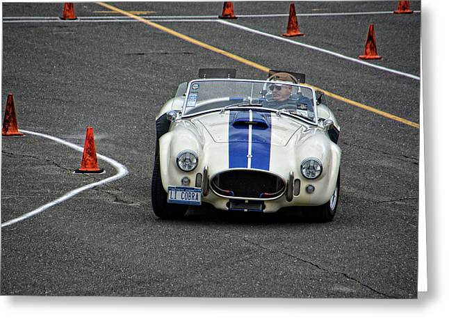 Carroll Shelby Greeting Cards - 1967 Ford Shelby Cobra Greeting Card by Mike Martin