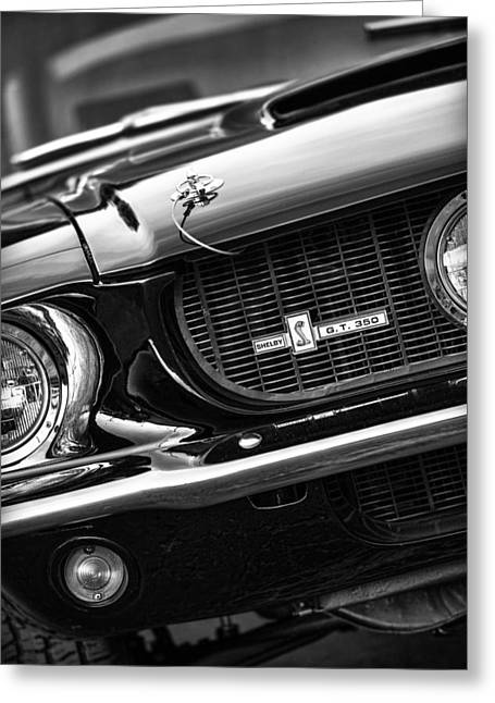Autographed Art Digital Art Greeting Cards - 1967 Mustang Shelby GT350 Greeting Card by Gordon Dean II