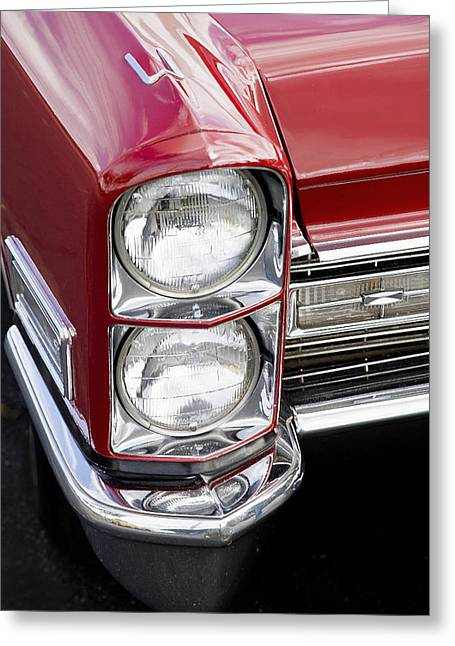Caddy Greeting Cards - 1968 Cadillac DeVille You Looking at ME Greeting Card by Rich Franco