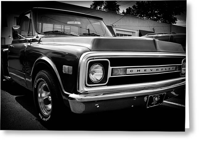 Classic Pickup Greeting Cards - 1969 Chevrolet Pickup Greeting Card by David Patterson