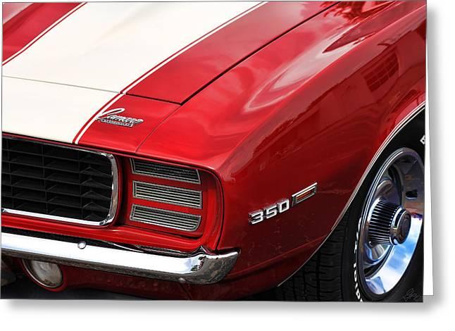 1969 Chevy Camaro Rs Greeting Card by Gordon Dean II