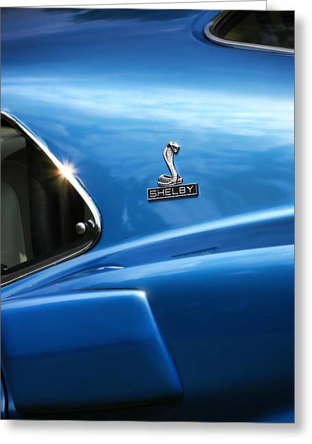 1964 Ford Emblems Greeting Cards - 1969 Ford Mustang GT500 Shelby Fastback Greeting Card by Gordon Dean II