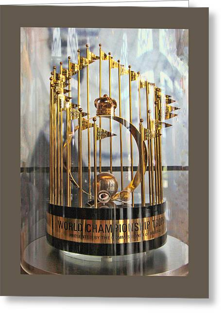 Major Award Greeting Cards - 1969 World Championship Trophy Greeting Card by Allen Beatty