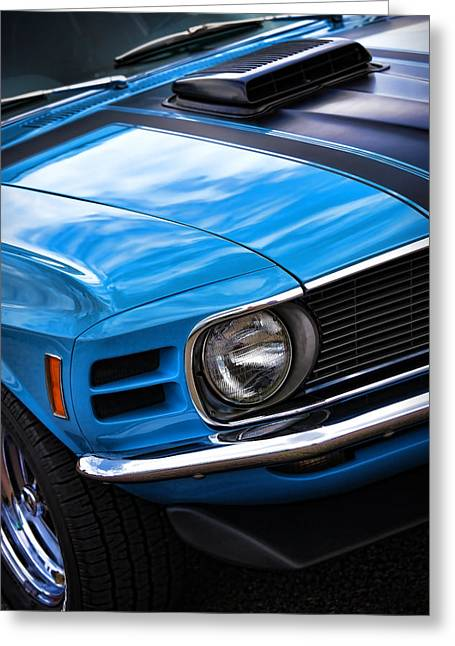 All Ford Day Greeting Cards - 1970 Boss 302 Ford Mustang Greeting Card by Gordon Dean II