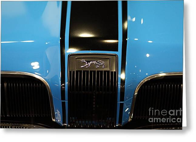 Mercury Hot Rod Greeting Cards - 1970 Mercury Cougar - 5D20351 Greeting Card by Wingsdomain Art and Photography