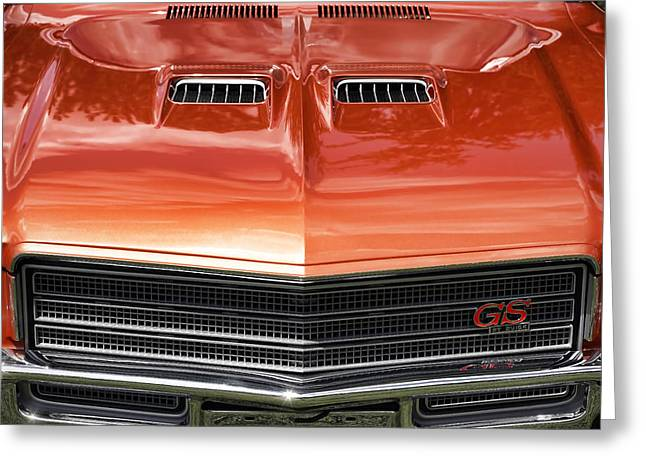Bittersweet Digital Greeting Cards - 1971 Buick GS Sport Coupe Greeting Card by Gordon Dean II
