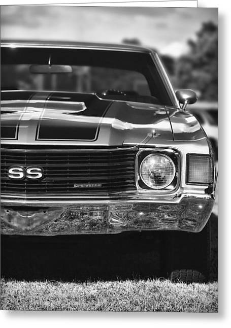 Dragway Greeting Cards - 1972 Chevrolet Chevelle SS Greeting Card by Gordon Dean II