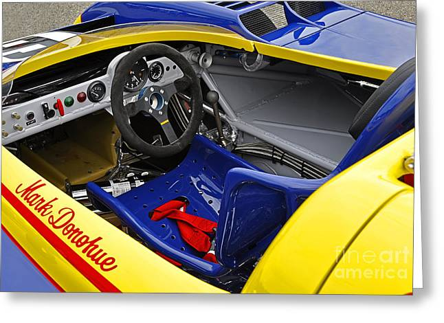 1973 Porsche 917-30 Interior Greeting Card by Tad Gage