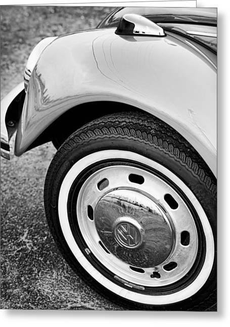 Original Vw Beetle Greeting Cards - 1973 Volkswagen Beetle Greeting Card by Gordon Dean II