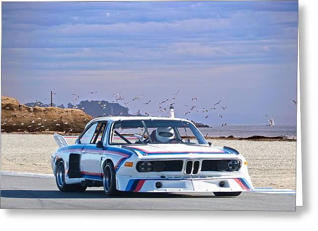 Spoiler Greeting Cards - 1974 Bmw 3.5csl Gt Greeting Card by Dave Koontz