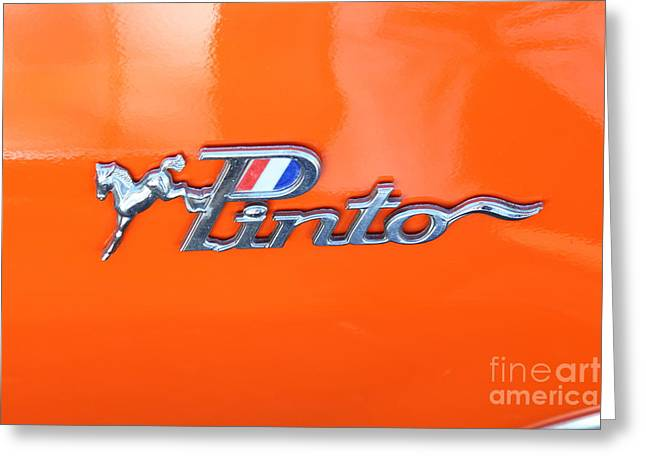 Runabout Greeting Cards - 1974 Ford Mustang Runabout 5D26529 Greeting Card by Wingsdomain Art and Photography