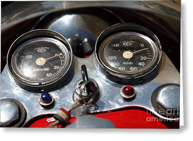 Mv Greeting Cards - 1974 MV Agusta 350 B Sport Motorcycle 5D23274 Greeting Card by Wingsdomain Art and Photography