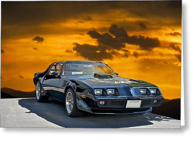 American Automobiles Greeting Cards - 1979 Pontiac Trans Am Greeting Card by Dave Koontz